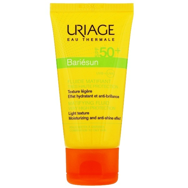 1209793 uriage eau thermale bariesun fluido matificante spf50 50ml
