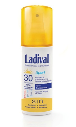LADIVAL sport spray transparente