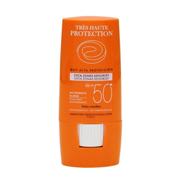 avene stick zonas sensibles spf50 plus 8g