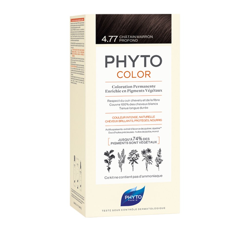 PHYTO COLOR 4.77 CASTAÑO MARRON INTENSO