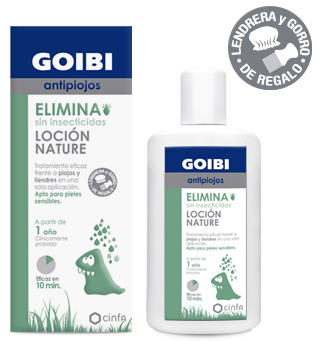 GOIBI ANTIPIOJOS ELIMINA LOCIÓN NATURE 200ML