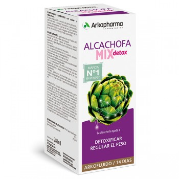 ARKOPHARMA ALCACHOFA MIX DETOX 280ML