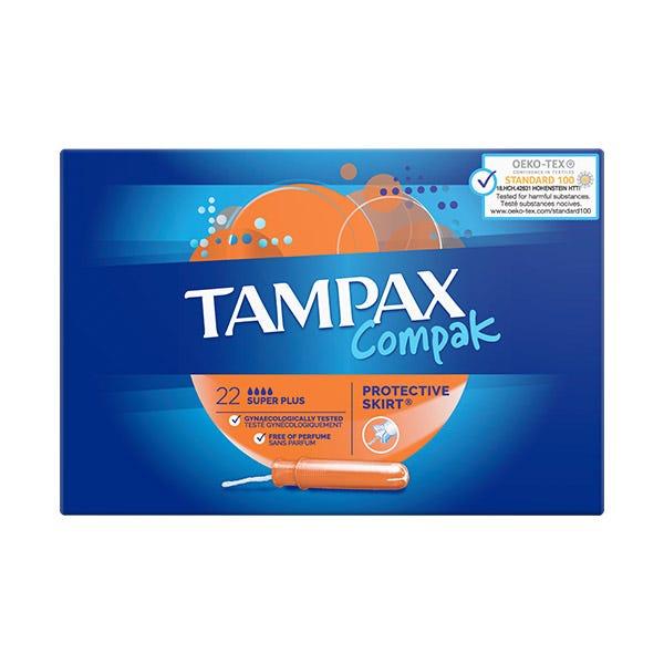 TAMPAX COMPAK SUPER PLUS 22UD