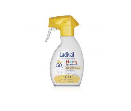 LADIVAL SPRAY LECHE HIDRATANTE NIÑOS 2 x 200ML