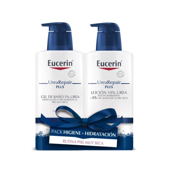 EUCERIN PACK UREA REPAIR PLUS GEL DE BAÑO 400ML + LOCIÓN 400ML