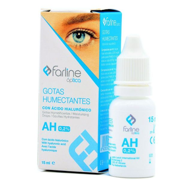 FARLINE ÓPTICA GOTAS HUMECTANTES 15ML