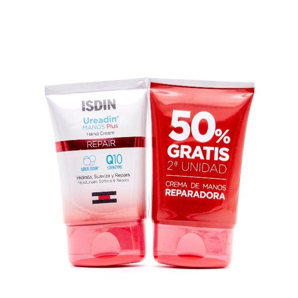 ISDIN UREADIN PLUS CREMA DE MANOS REPARADORA 2 X 50ML