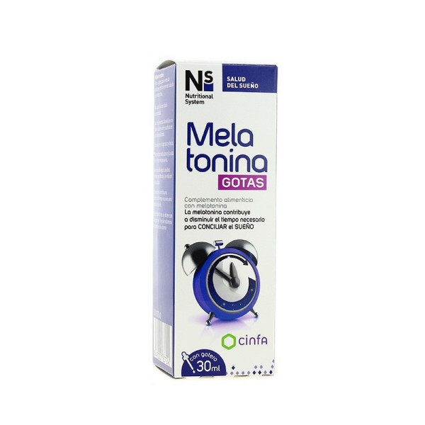 NS MELATONINA GOTAS 30ML