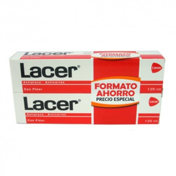 LACER PASTA DENTÍFRICA 125ML X 2