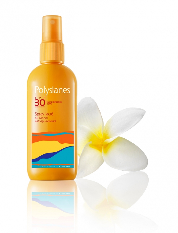 POLYSIANES SPF 30 SPRAY LECHE KLORANE PROTECCION ALTA 125 ML