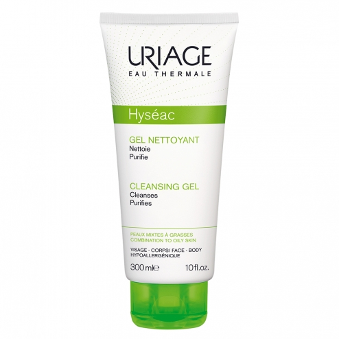 URIAGE HYSÉAC GEL LIMPIADOR 300ML