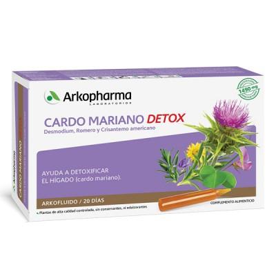 ARKOPHARMA CARDO MARIANO DETOX 15ML X 20 AMPOLLAS