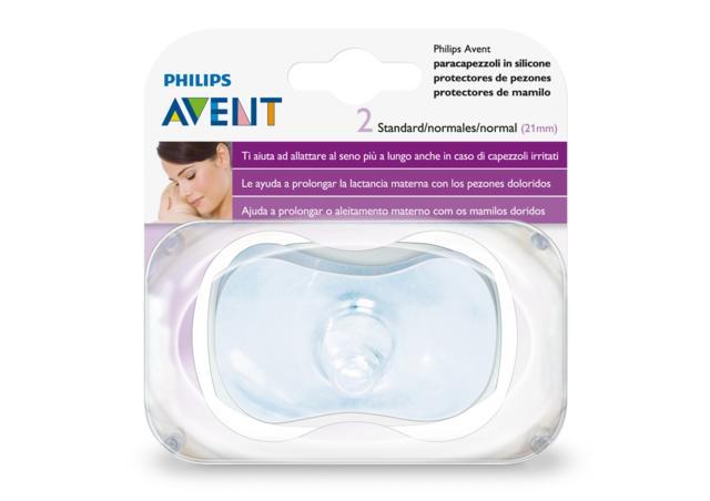 AVENT 2 PROTECTORES DE PEZONES NORMALES (21MM)