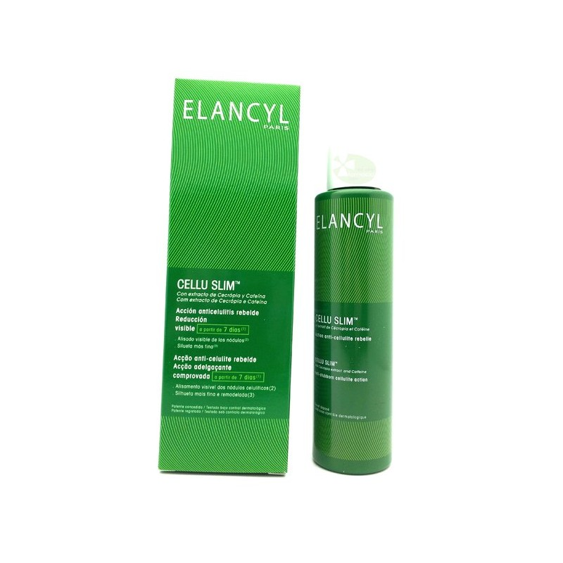 ELANCYL CELLU SLIM ACCIÓN ANTICELULITIS REBELDE 200ML