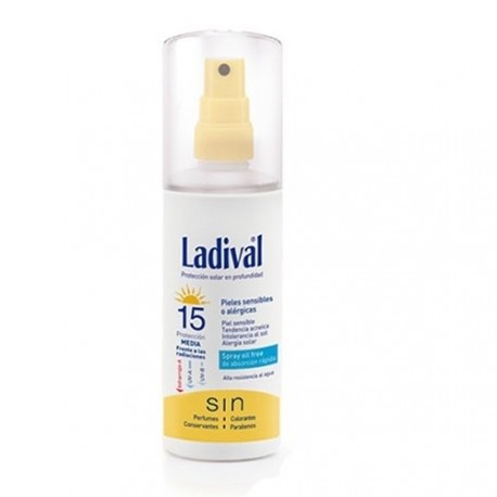 LADIVAL SPRAY SPF15 150ML