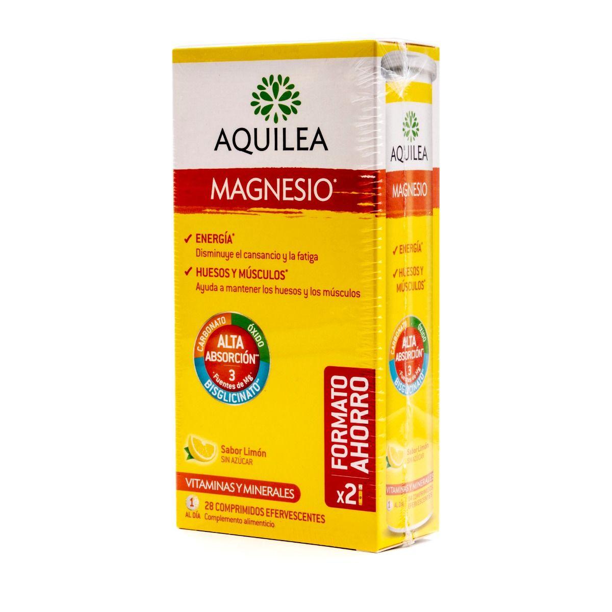 AQUILEA MAGNESIO FORMATO AHORRO 28 COMPRIMIDOS EFERVESCENTES